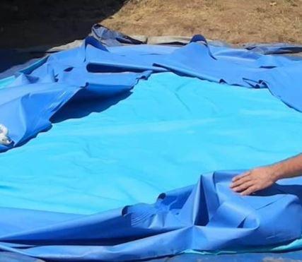 afbreken Intex zwembad