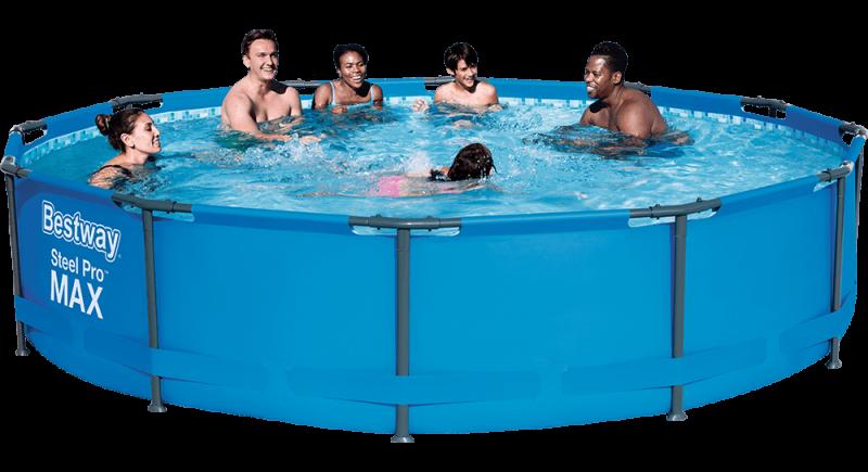 Bestway Steel Pro max opzetzwembad