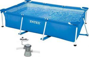 Intex 300 x 200 x 75cm inclusief filterpomp 2271