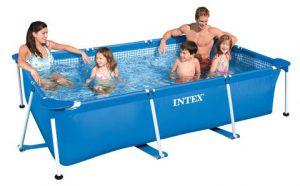 Intex 300 x 200 x 75cm gevuld